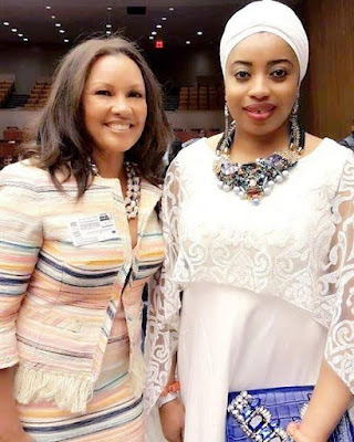 U.S actress, Vanessa Williams describes Olori Wuraola Ogunwusi as the Queen of Nigeria