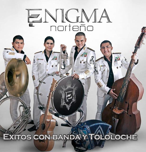 Enigma Norteño - Exitos con Banda y Tololoche (2013) (Cover)