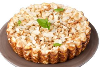 яблочный пирог из готового теста