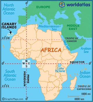 Which Canary Island Is Closest To The Equator