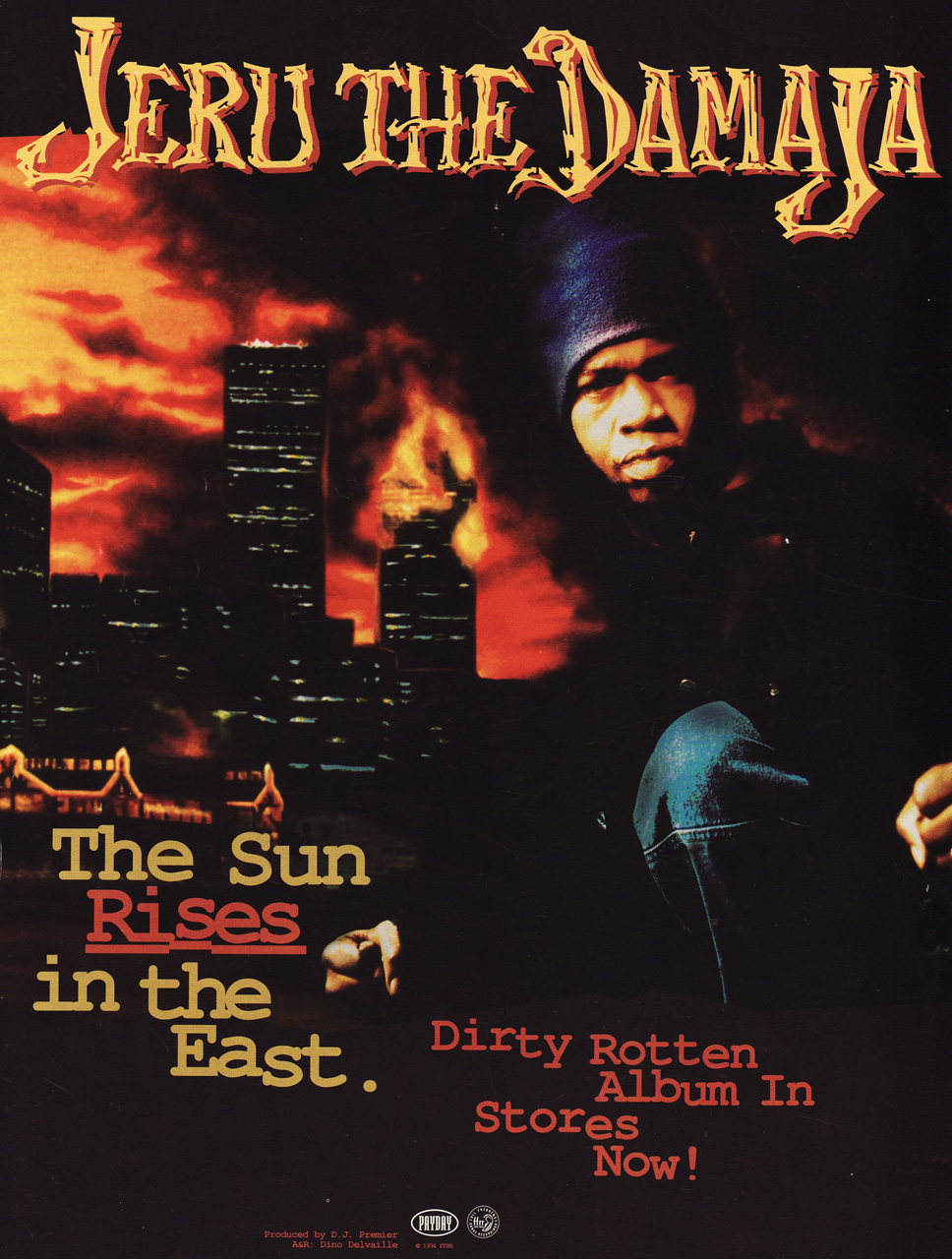 Hiphop Thegoldenera Album Review Jeru The Damaja The