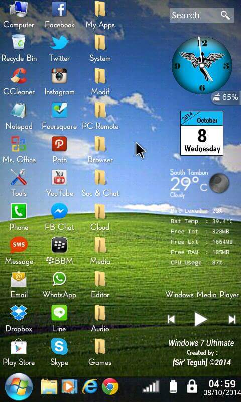 Ammco bus : Windows 7 for android apk full new version