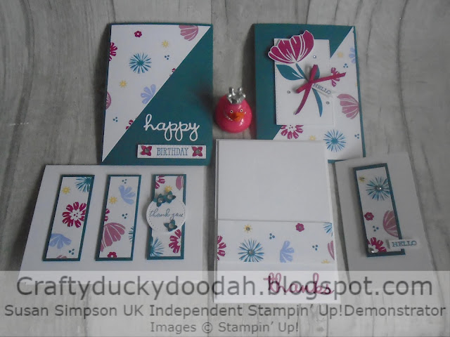 Craftyduckydoodah!, Stampin' Up! UK Independent  Demonstrator Susan Simpson, SBTD Blog Hop May 2019, One Sheet Wonder, Bloom By Bloom, Supplies available 24/7 from my online store,