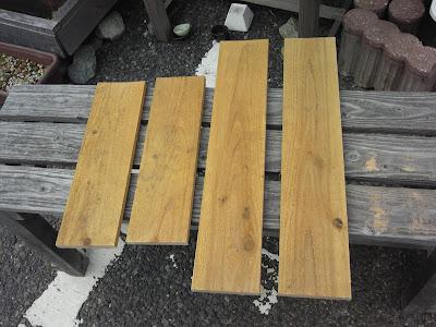 杉板 カット