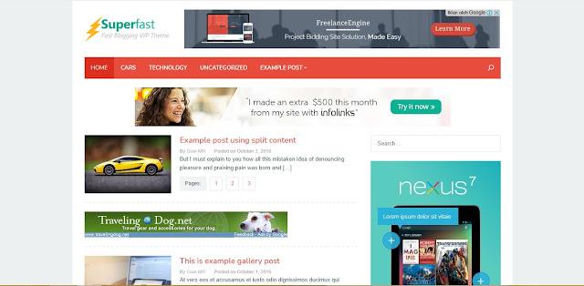 Download Theme Superfast Wordpress (100% Original)