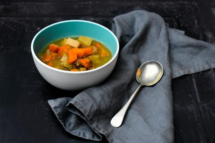 Scottish Slow Cooker Vegetable Soup