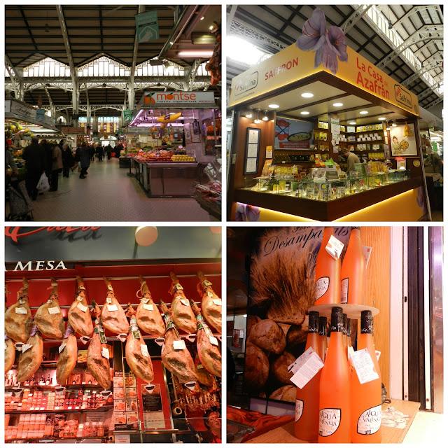 Onde comer e beber em Valência - Mercado Central