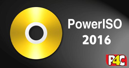تحميل برنامج الاسطوانات الوهمية PowerISO 7.2 أحدث أصدار