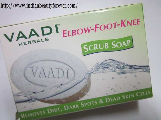 Vaadi Herbals Elbow-Foot-Knee Scrub soap