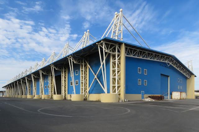 Terminal Marzocco warehouses by Andrea Cecconi, Via del Marzocco, Livorno