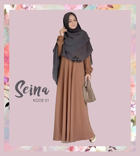 Gamis Jasmine Seina Dress 01
