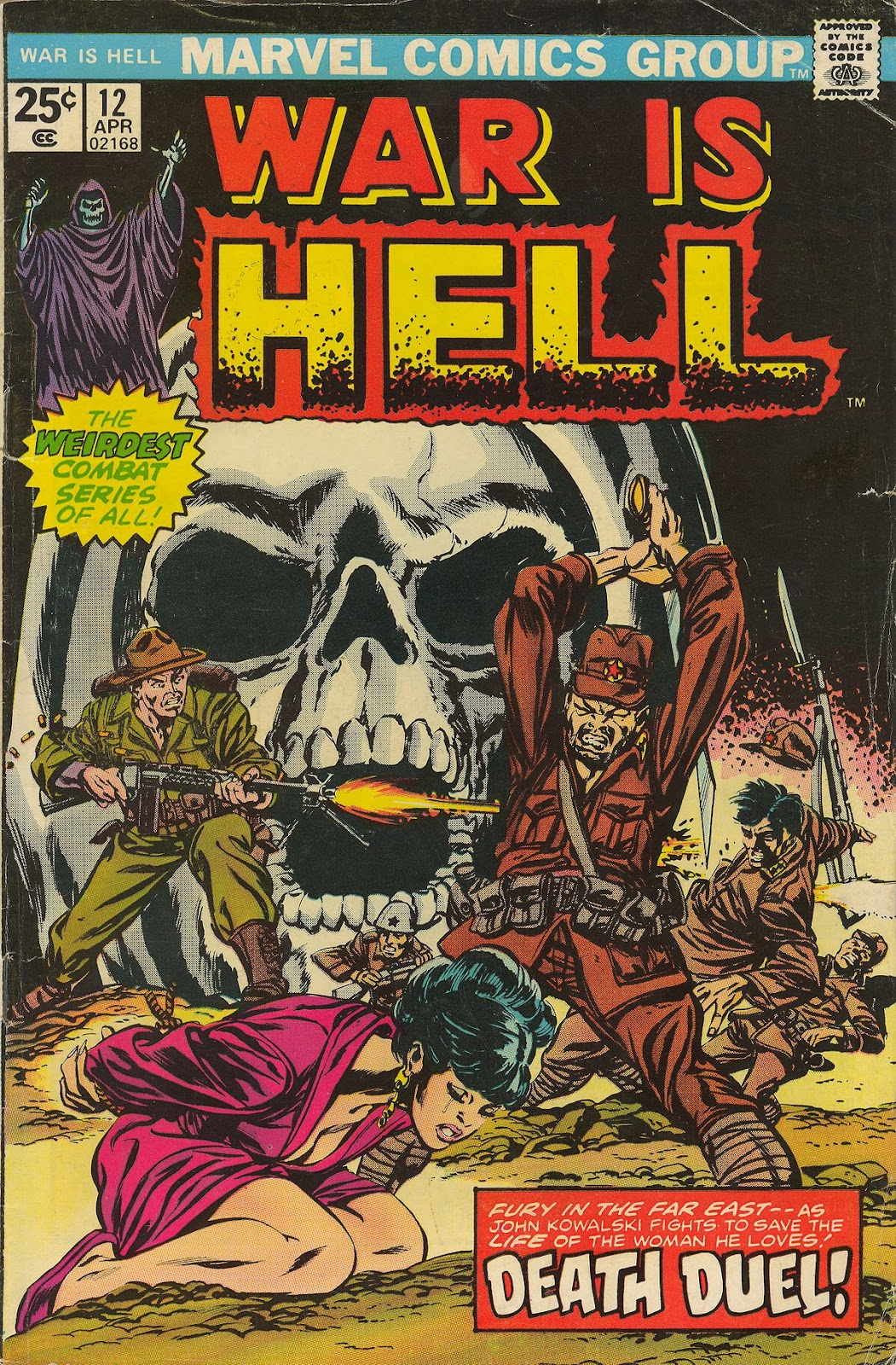 War Is Hell (1973) issue 12 - Page 1