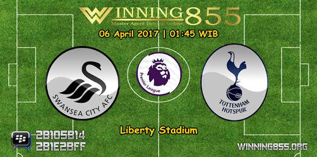 Prediksi Skor Swansea City vs Tottenham Hotspur 06 April 2017