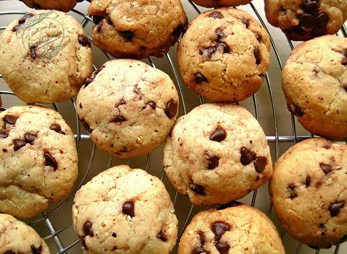 Biscuits Choco Noisettes Il Etait Une Fois La Patisserie