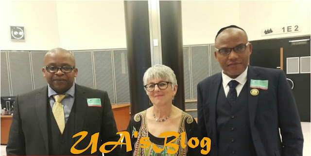 BREAKING: Nnamdi Kanu, Uche Mefor Meet MEPs In Brussels, Assure Biafra Freedom