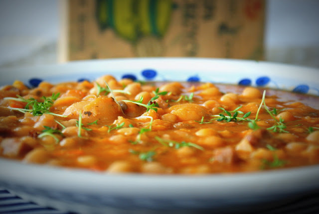 zupa z ciecierzycy,SYS,dania babci zosi,cieciorka,faasola
