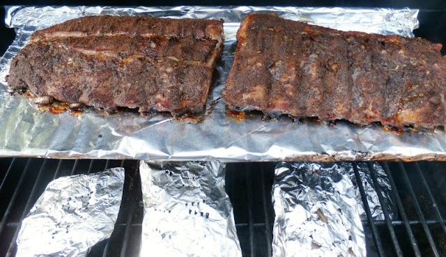 Southwestern Seasoned Smoked Ribs