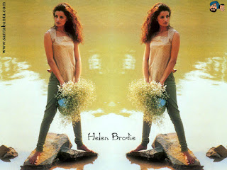 Helen Brodie Standing Pose In Pond