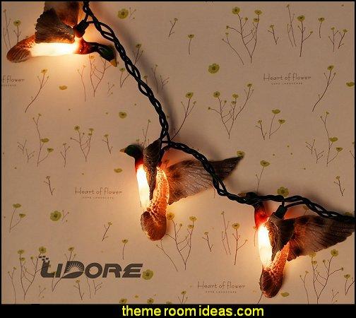 Mallard Duck String Light Set