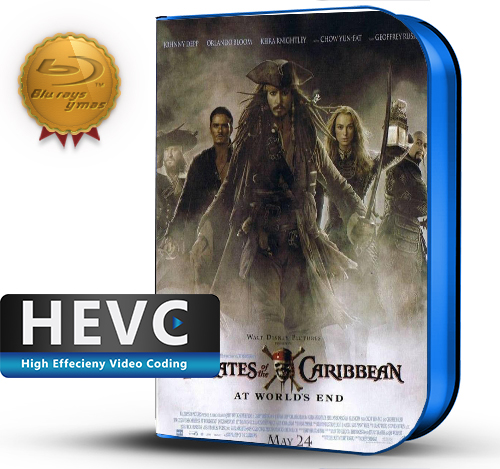 Pirates of the Caribbean: At World's End (2007) 1080P HEVC-8Bits BDRip Latino/Ingles(Subt.Esp)(Aventura)