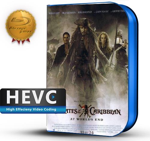 Pirates of the Caribbean: At World's End (2007) 1080P HEVC-8Bits BDRip Latino/Ingles(Subt.Esp)(Aventura)