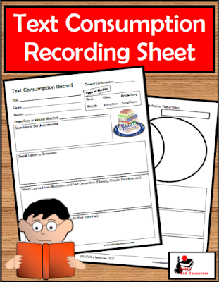 Free sheet that can be used on any book, article, poem or video. This sheet helps students to remember what they have ready by allowing them to jot down notes in response to reading strategies questions. Free download from Raki's Rad Resources.