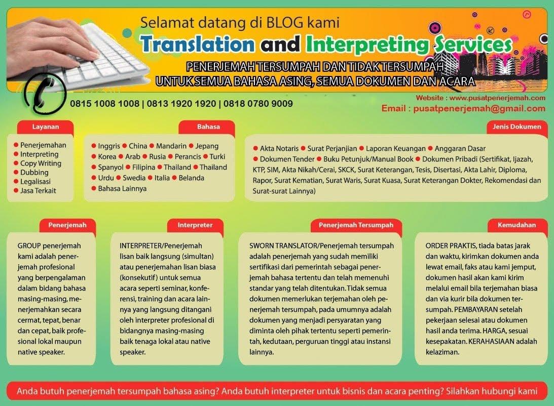 Penerjemah Tersumpah Interpreter Haji Umroh Wisata Tour Ziarah Makkah Madinah Jakarta Indonesia