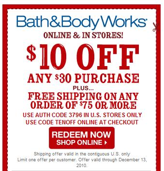 Bathandbodyworks coupon code