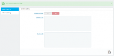 Configuration of PrestaShop Custom CSS and JS Module | Knowband