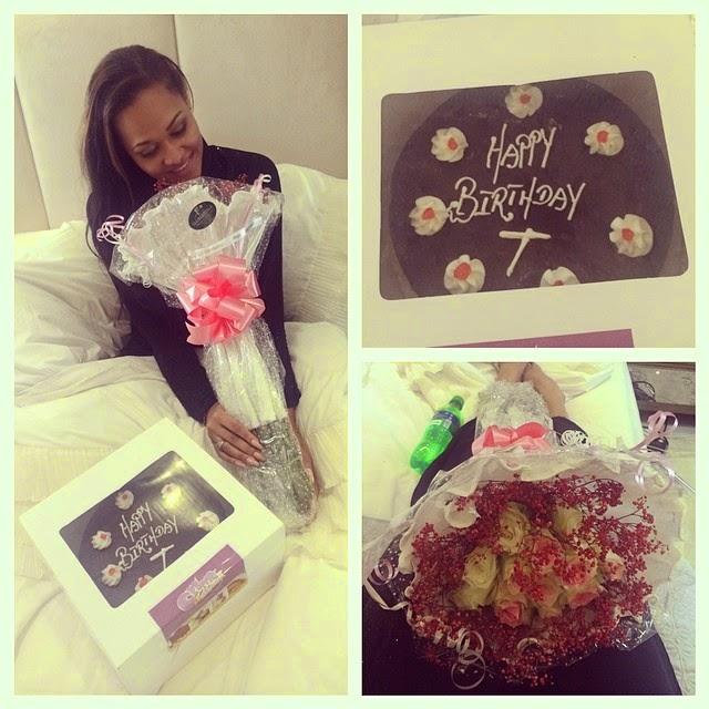 WIZKID SPOILS EX GIRLFRIEND WITH BIRTHDAY GIFTS