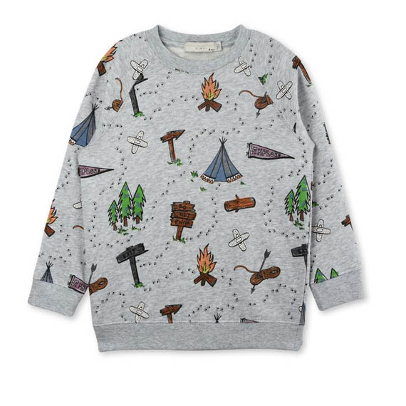 Stella McCartney fall winter printed hoodies for kids
