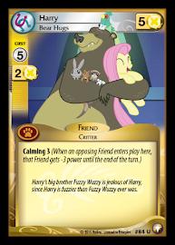 My Little Pony Harry, Bear Hugs Equestrian Odysseys CCG Card