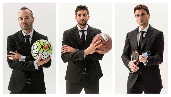 Iniesta, Ferrer y Ricky Rubio, aspirantes al nuevo James Bond