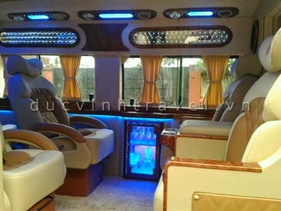 Cho thuê xe Ford Transit Dcar 2014 VIP Bus - Luxury Business 1
