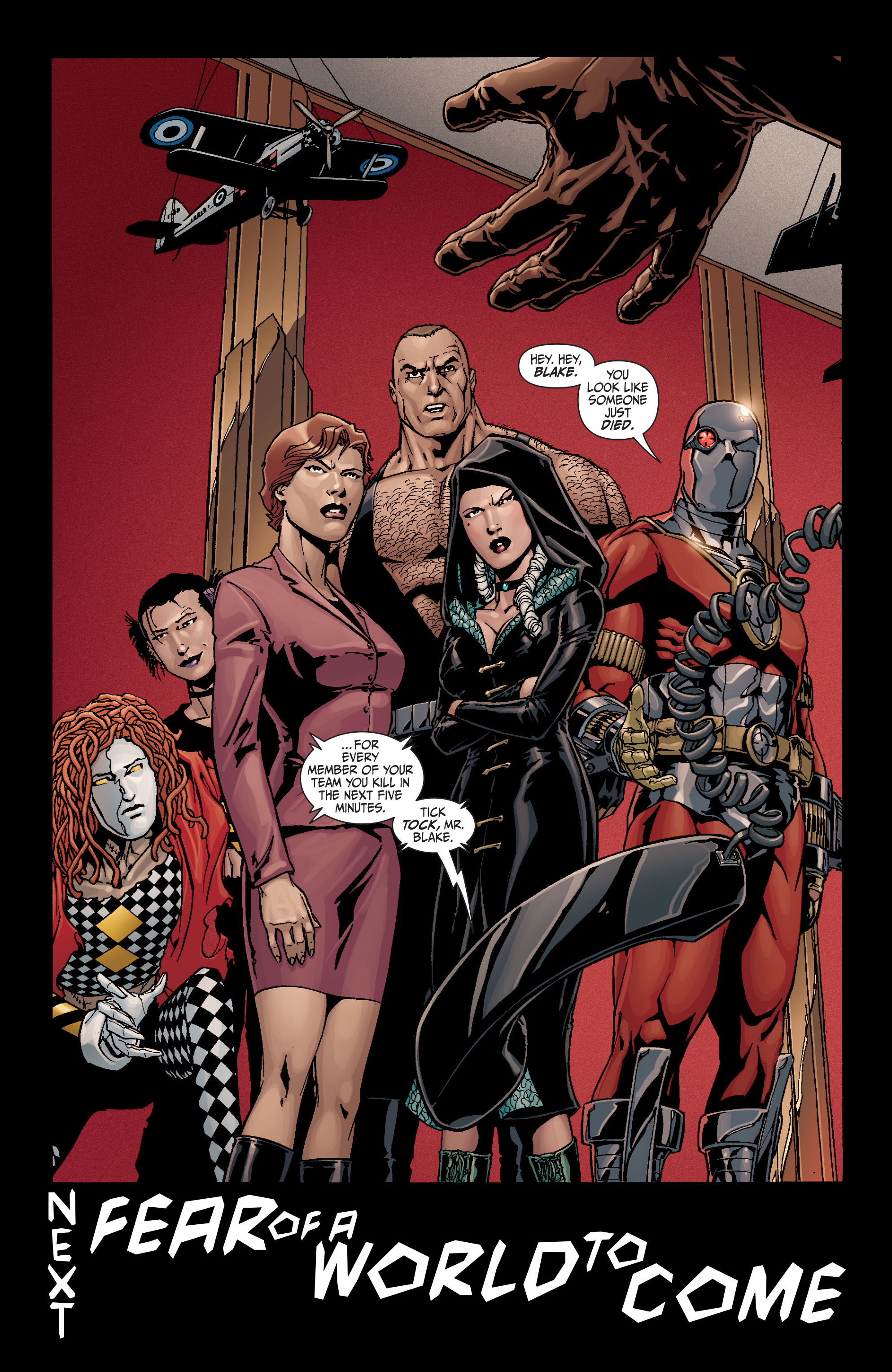 Read online Secret Six (2008) comic -  Issue #19 - 23