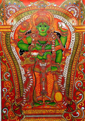 Mahavishnu Mural Painting