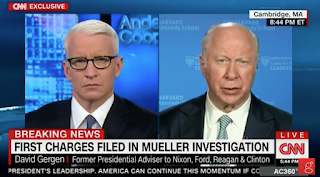 Gergen: 'Certainly Looks Like the Dam Is About to Break' on the TrumpGergen: 'Certainly Looks Like the Dam Is About to Break' on the Trump Admin
