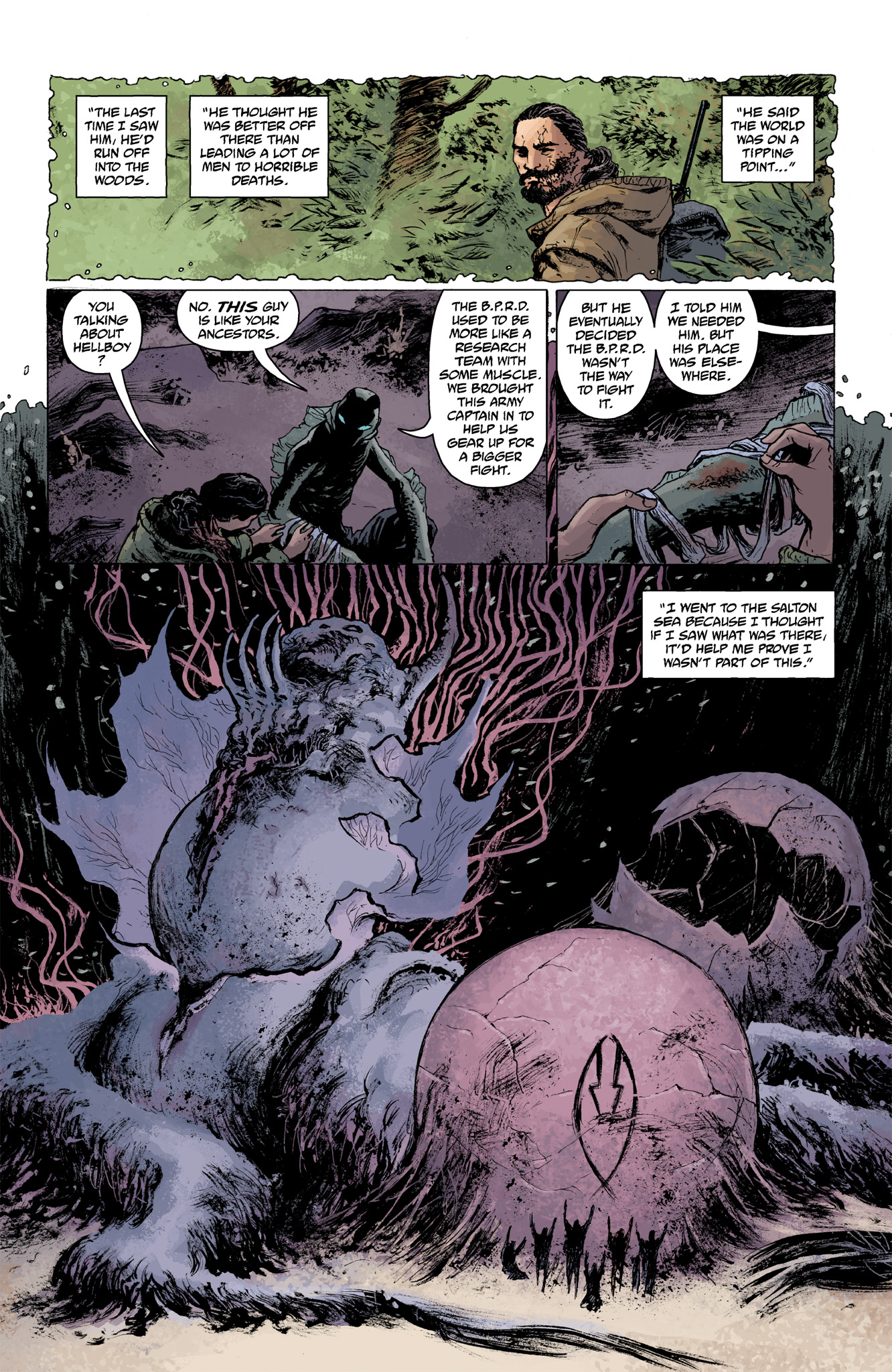 Read online Abe Sapien comic -  Issue #6 - 15