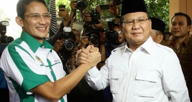 Prabowo – Sandi Tegang, Tak Siap Hadapi Jokowi