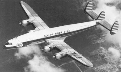 flying tiger flight 739, esrarengiz uçak kazası