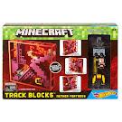 Minecraft Nether Fortress Hot Wheels Track Blocks Figure