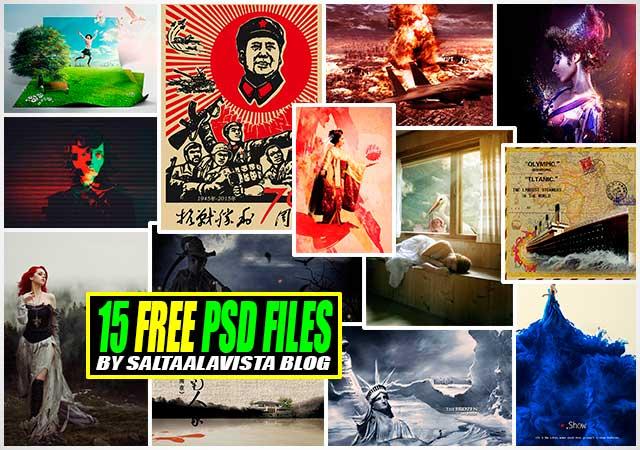 Descargar 15 Archivos PSD Gratis | Download 15 Free PSD Files