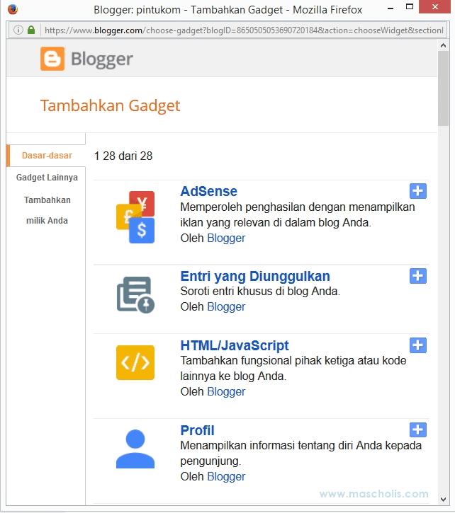 Tutorial Belajar Blogger Lengkap untuk Pemula