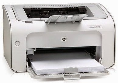 is really a black and white laser printer from HP HP LaserJet P1005 Printer Drivers Download