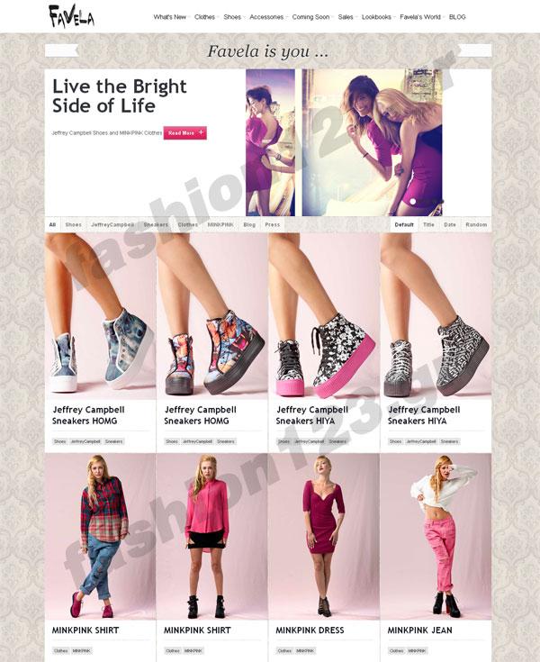 FAVELA  Επώνυμα ξεχωριστά παπούτσια και μοναδικά ρούχα για τη ... c65b6019f1a