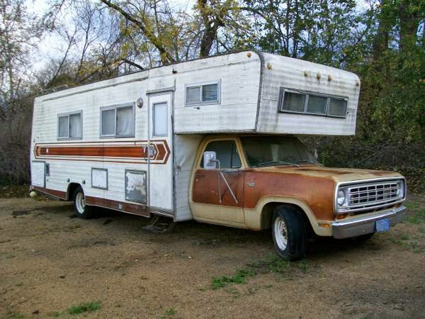Used rvs 1976 dodge midland motorhome for sale by owner for Used class c motor home