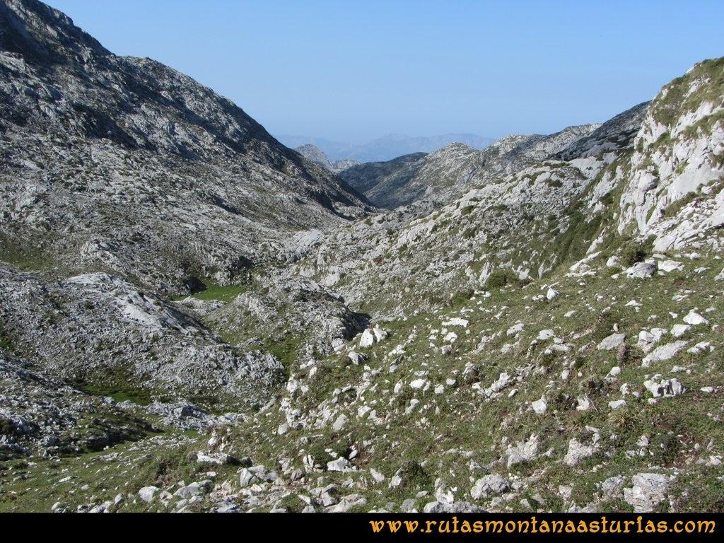 Ruta Ercina, Verdilluenga, Punta Gregoriana, Cabrones: Resecu Cima