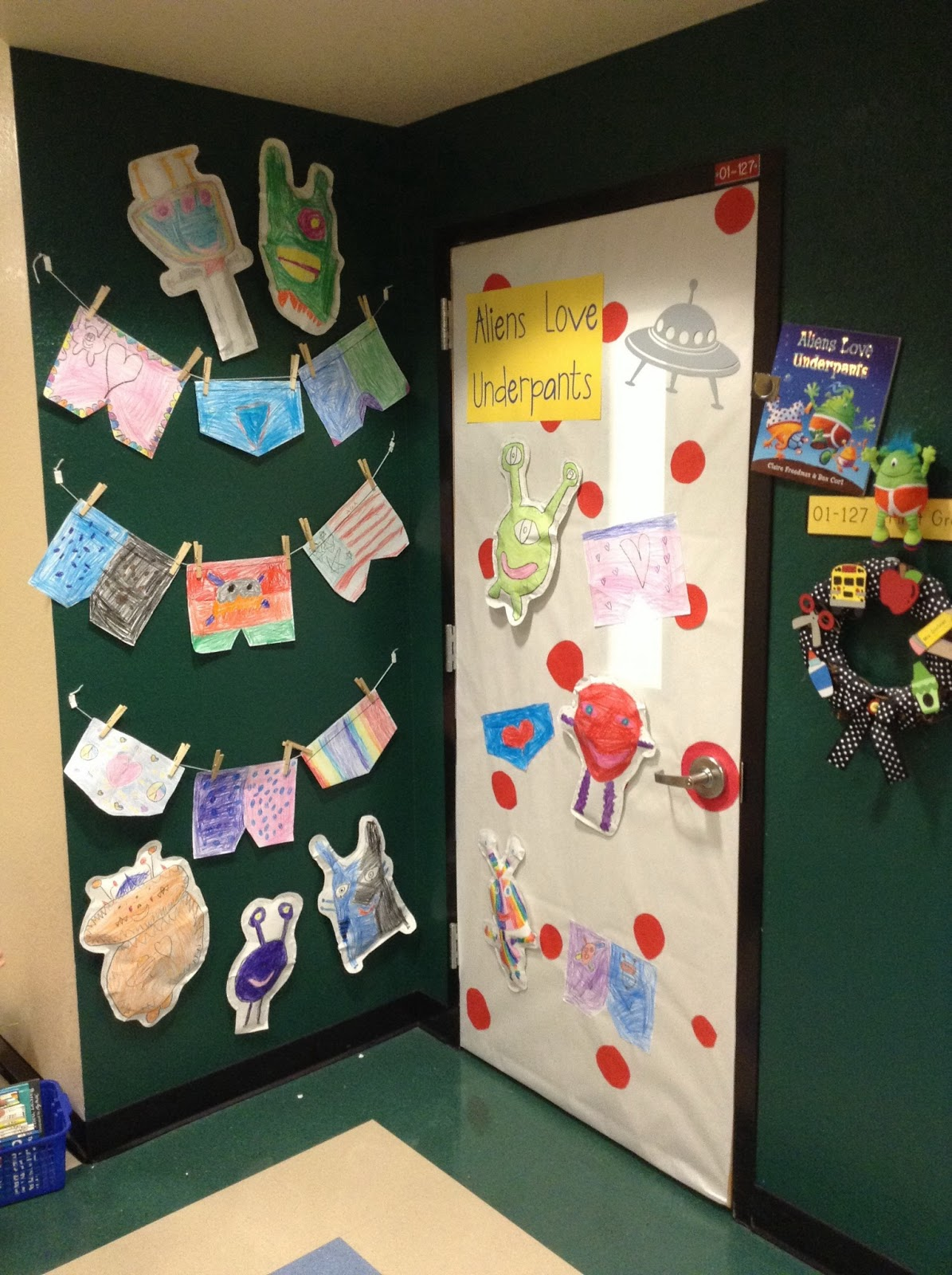 Wall Colour Inspiration: Children's Book Week - Door Decorating