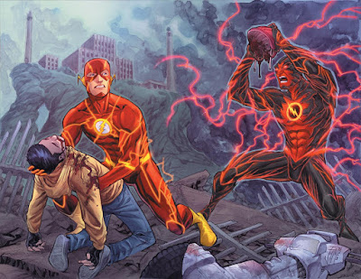"""Reseña de """"Flash: Reverso"""" de Brian Buccellato y Francis Manapul - ECC Ediciones"""