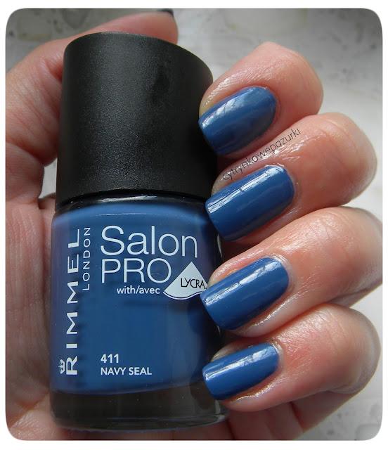 Rimmel Salon Pro 411 Navy Seal
